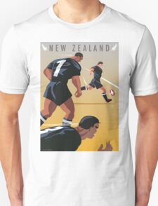 Kickoff  Rugby New Zealand T-Shirt