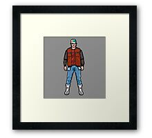 NOW IS THE FUTURE - Marty Mcfly 2015 Framed Print