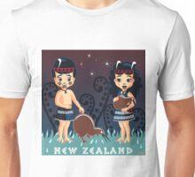 Poi, Haka with the Kiwis Unisex T-Shirt
