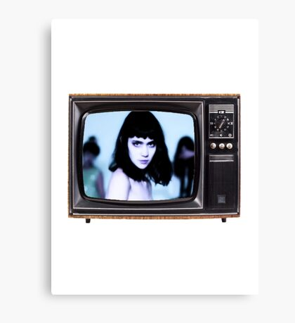 Grimes TV Canvas Print