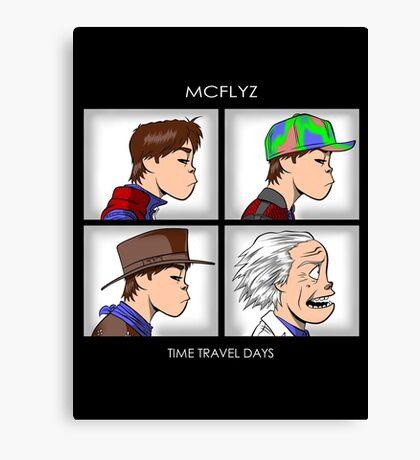 Time Travel Days Canvas Print