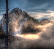 Misty Mountain by Mari  Wirta