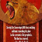 Amos 3:7-8 by Iwazaru