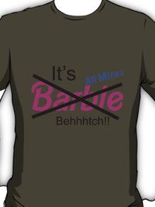 """Not Barbie"" (BLACK) T-Shirt"