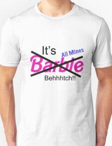 """Not Barbie"" (BLACK) Unisex T-Shirt"