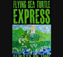 Flying Sea Turtle Express Departs Vancouver on Schedule Unisex T-Shirt