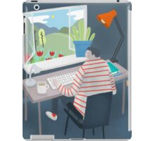 Working Window iPad Case/Skin