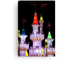Fairy Tale Castle Canvas Print
