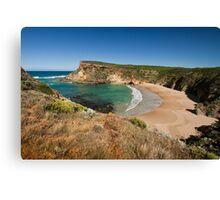 View across the beach at Childers Cove, Victoria, Australia Canvas Print