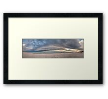 Storm Cell Panorama Framed Print