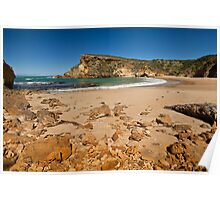 Low tide on the beach at Childers Cove, Victoria, Australia Poster