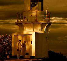 The Keeper - Richmond River Lighthouse by KarenEaton