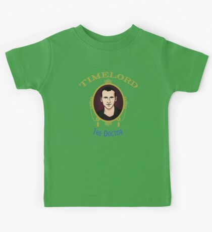 Dr. Who - Timelord - Ninth Doctor (Variant) Kids Tee