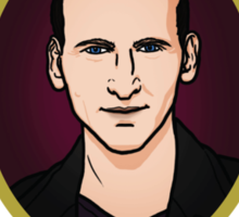 Dr. Who - Timelord - Ninth Doctor (Variant) Sticker