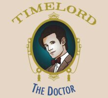 Dr. Who - Timelord - Eleventh Doctor (Variant) by huckblade