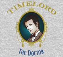 Dr. Who - Timelord - Eleventh Doctor (Variant) Kids Tee