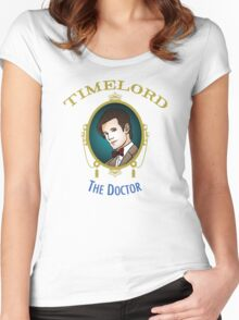 Dr. Who - Timelord - Eleventh Doctor (Variant) Women's Fitted Scoop T-Shirt