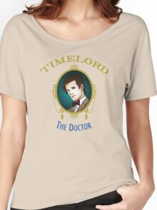 Dr. Who - Timelord - Eleventh Doctor (Variant) Women's Relaxed Fit T-Shirt