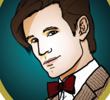Dr. Who - Timelord - Eleventh Doctor (Variant) Sticker