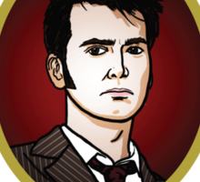 Dr. Who - Timelord - Tenth Doctor Sticker