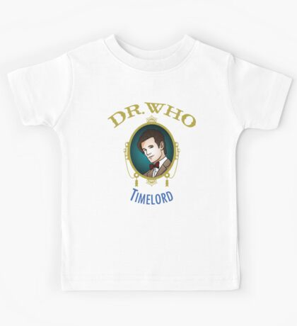 Dr. Who - Timelord - Eleventh Doctor Kids Tee