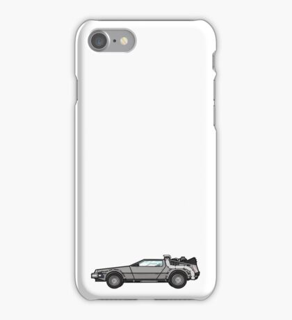NOW IS THE FUTURE - Delorean 1985 iPhone Case/Skin