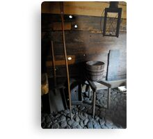 Historic Rooms Metal Print
