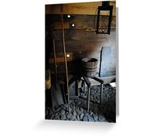 Historic Rooms Greeting Card