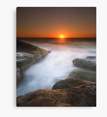 """Tomorrow Turned Into Yesterday"" ∞ Gerroa, NSW - Australia Canvas Print"