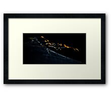 Upon its web the spider sat Framed Print