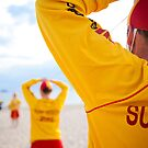 Surf Life Savers by Ruben D. Mascaro