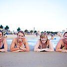 Beach Girls by Ruben D. Mascaro