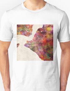 Anchorage map Alaska T-Shirt