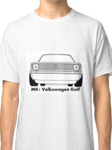 Mk1 Golf caricature Classic T-Shirt
