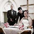 Signing of the Register : Renee & Cameron by JimFilmer