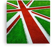 UK track and field Canvas Print