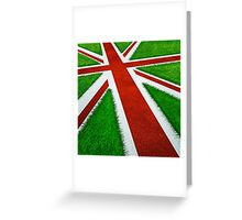 UK track and field Greeting Card