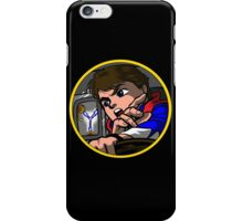 Time Travel Racer iPhone Case/Skin