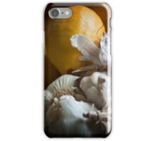 Lemons and Garlic Still Life iPhone Case/Skin