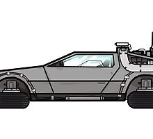 NOW IS THE FUTURE - Delorean 2015 by smilefgc