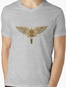 Steampunk T-shirt Peregrine 1 Mens V-Neck T-Shirt