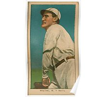 Benjamin K Edwards Collection Hooks Wiltse New York Giants baseball card portrait 002 Poster