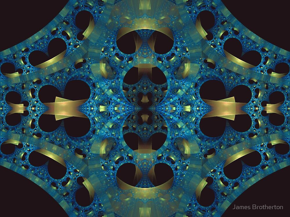 Blue And Gold by James Brotherton