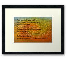 The Beloved Framed Print