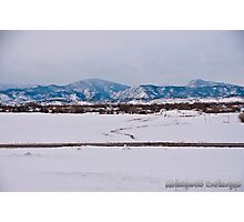 Colorado Rocky Mountains  Photographic Print