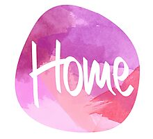One Direction - Home, Watercolour  Photographic Print