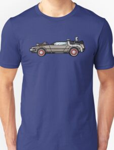 NOW IS THE FUTURE - Delorean 1955 Unisex T-Shirt