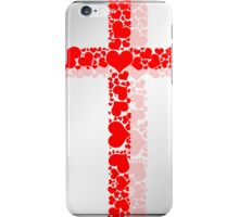 Love on the Cross iPhone Case/Skin