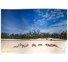 Bakers Delight - Nth Stradbroke Is. Qld Australia Poster
