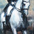 Dressage No.5 - in motion by Nina Smart